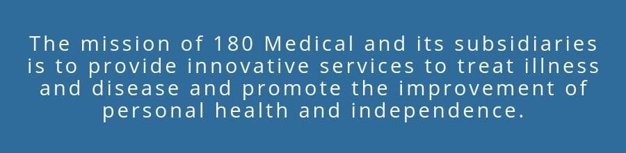 180 Medical Mission Statement