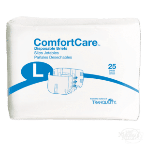 ComfortCare Disposable Briefs package