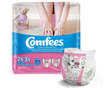 Comfees Premium Training Pants for Girls Size 2T 3T