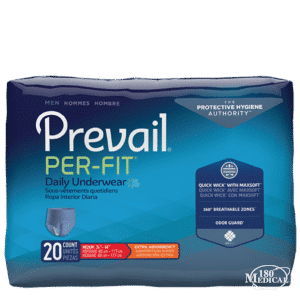 prevail per-fit pull-on incontinence underwear for men