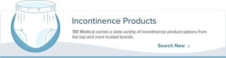 incontinence products banner