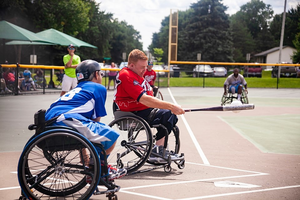 brendan wheelchair softball
