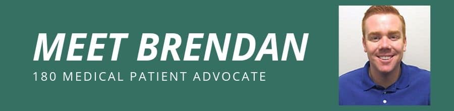 meet brendan 180 medical patient advocate
