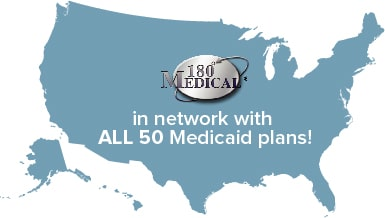 In Network with all 50 Medicaid plans