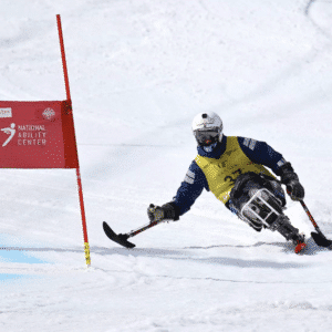 ben adaptive skiing