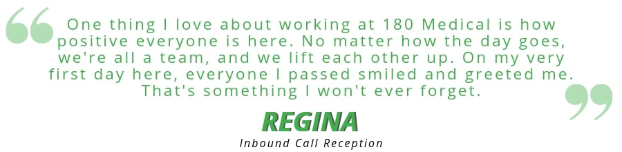180 medical employee quote regina
