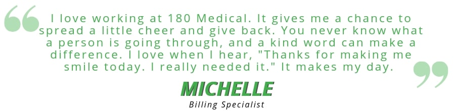 michelle 180 medical employee quote best places to work