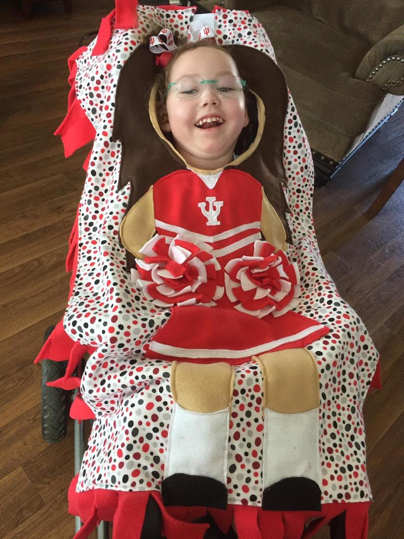 stitchedfromthecrpyt cheerleader wheelchair costumes
