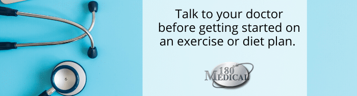 talk to doctor exercise