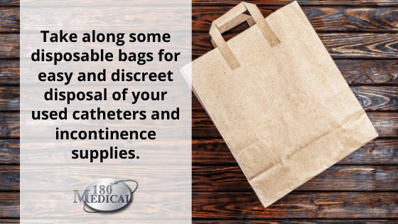 catheter disposal bag