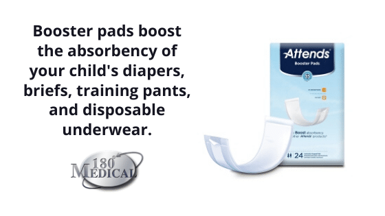 booster pads incontinence autism
