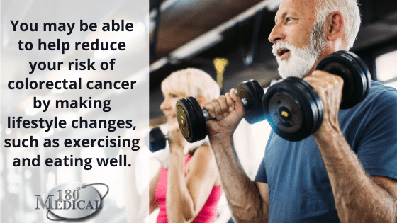 lifestyle changes to prevent colorectal cancer