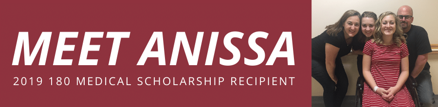 meet anissa 2019 scholarship recipient