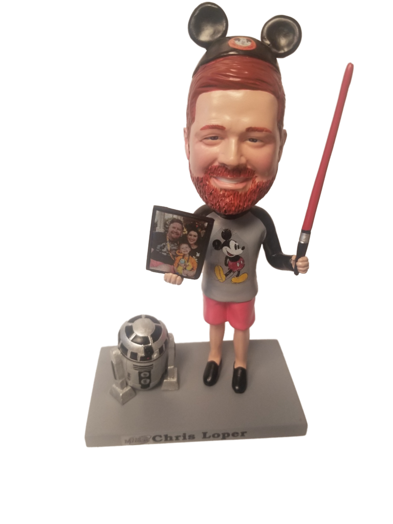 chris bobblehead