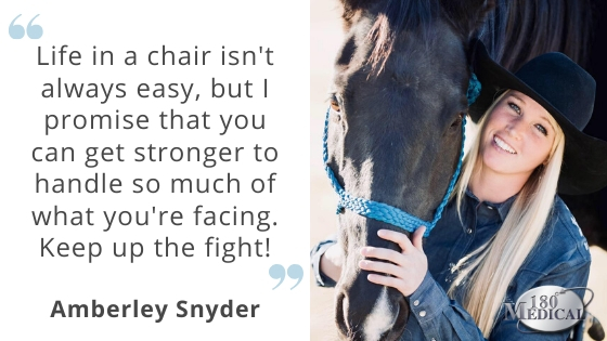 amberley snyder motivational spinal cord injury quote