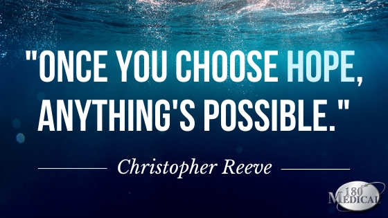 christopher reeve choose hope quote