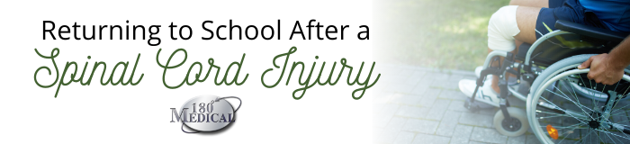 school after spinal cord injury
