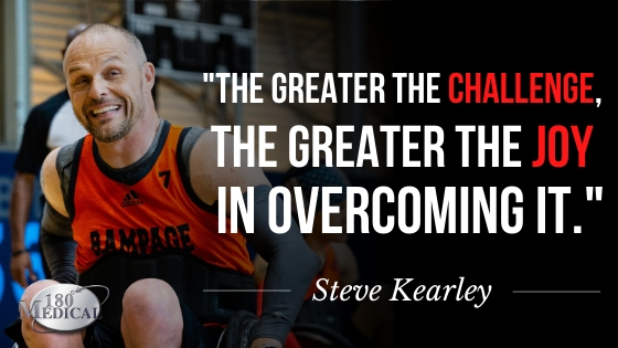steve kearley spinal cord injury quote