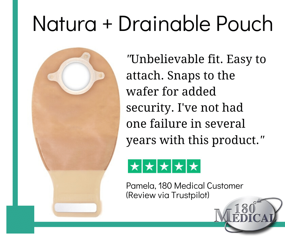 Natura Plus Drainable Pouch Product Review 02.25.2020
