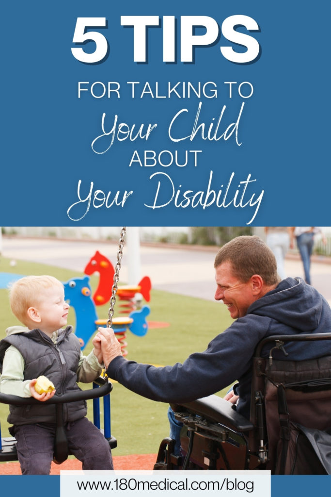 5 Tips for talking to your child about your disability pinterest