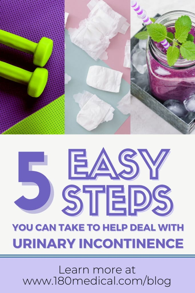 5 easy steps you can take to reduce urinary incontinence pinterest