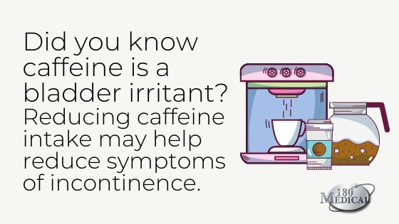 caffeine and link to incontinence