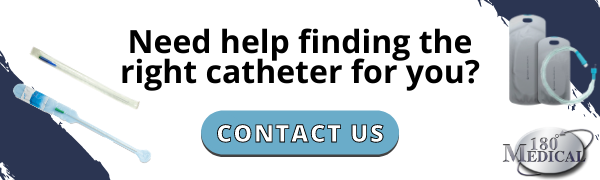 contact 180 medical to find the right catheter for you