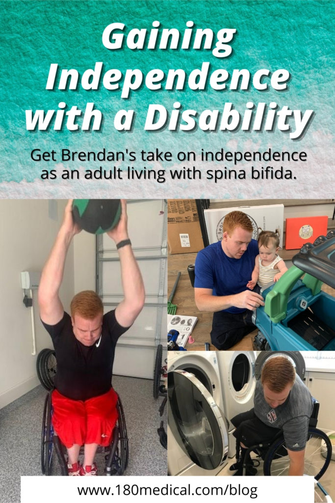 Gaining Independence with Disability Pinterest Graphic