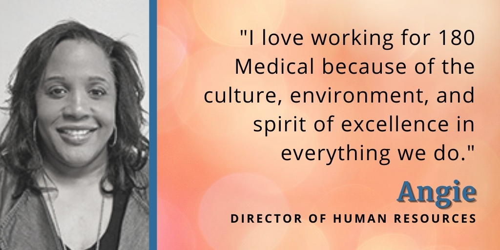reasons why we love working at 180 medical angie quote 1