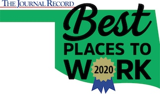 Best Places to Work in Oklahoma 2020 Logo