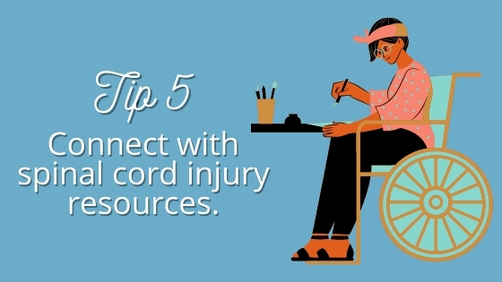 tip 5 connect with spinal cord injury resources