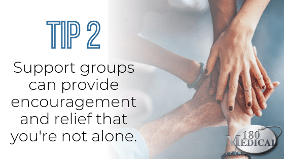 urinary incontinence support group tip