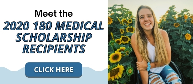 Meet 2020 180 medical scholarship recipients banner