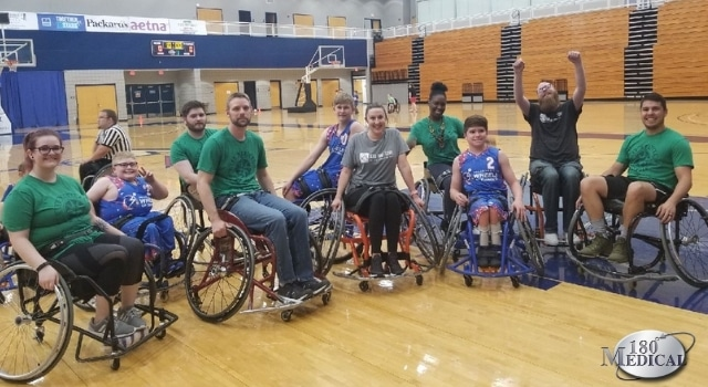 180 Medical at OKASA Wheelchair Basketball Tournament