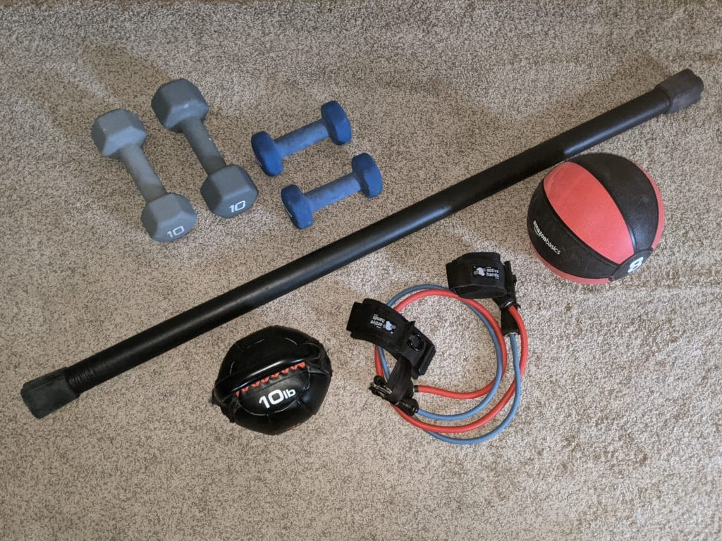 Mason exercise equipment