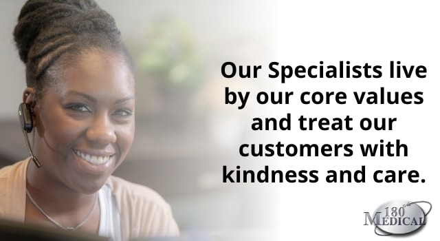 Our Specialists live by our core values and treat our customers with kindness and care.