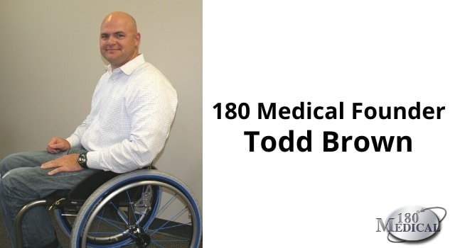 Picture of 180 Medical Founder Todd Brown