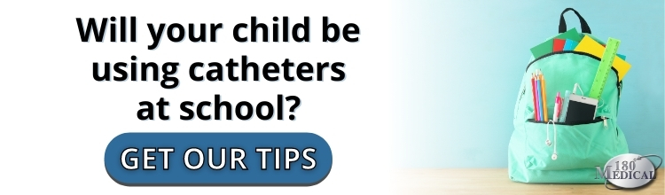 tips for going to school with catheters