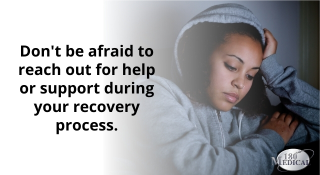 don't be afraid to reach out for help