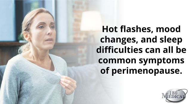 hot flashes during perimenopause with a spinal cord injury