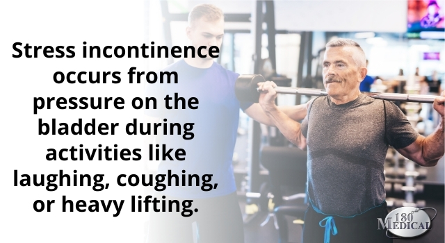 stress incontinence from heavy lifting