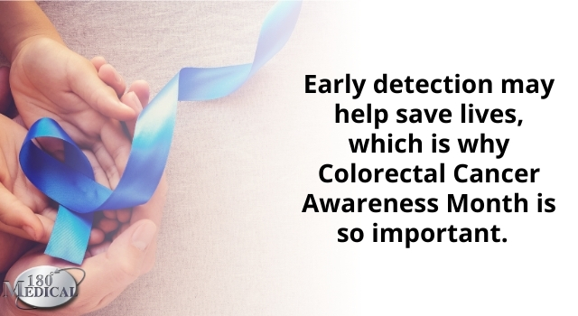 Early detection of colorectal cancer may help save lives.