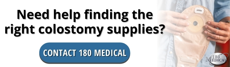 contact 180 Medical for colostomy supplies
