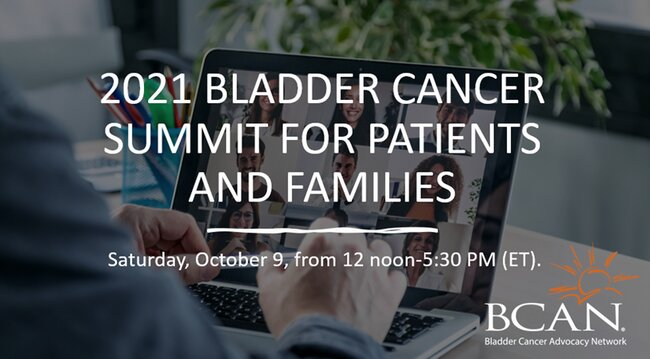 2021 Bladder Cancer Summit for Patients and Families