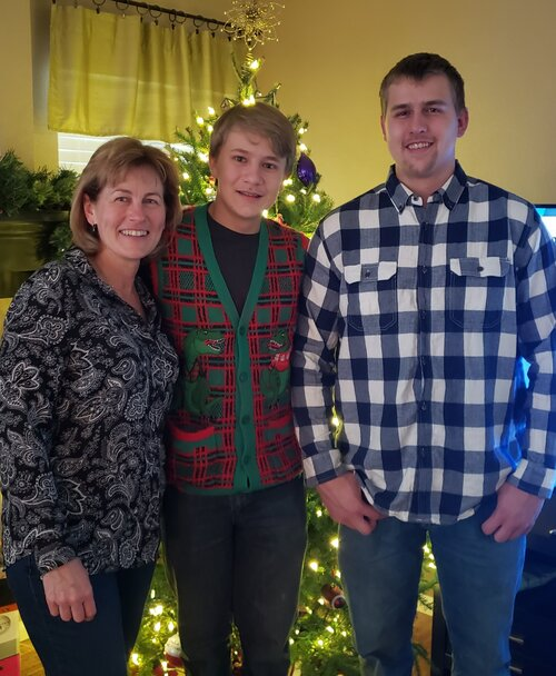 Michele and her two sons