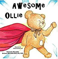 Awesome Ollie book for kids with an ostomy
