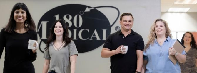 employees at 180 Medical