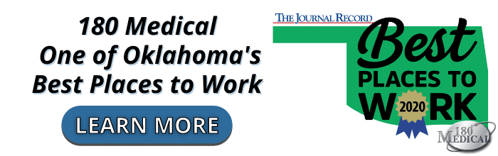 180 Medical is One of the Best Places to Work in Oklahoma