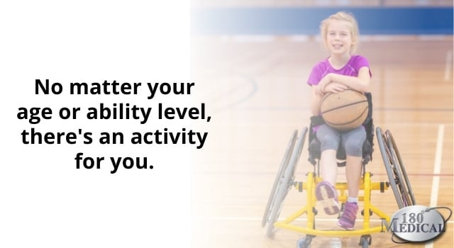 adaptive sports are for every age and ability
