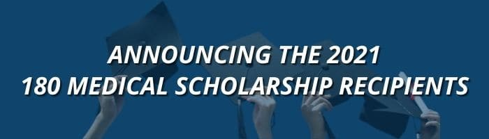 Announcing the 2021 Scholarship Recipients